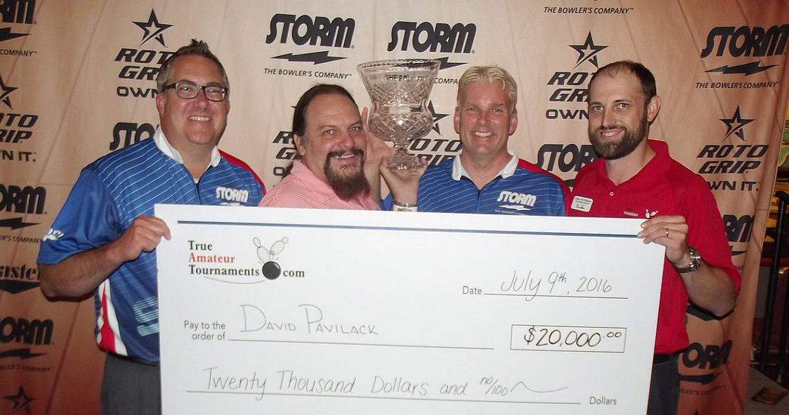 David Pavilack wins $20,000 in 2016 True Amateur Tournament Amateur Classic