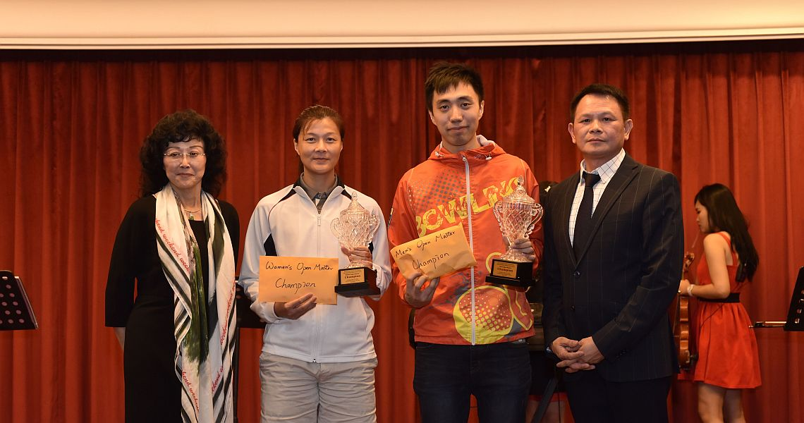 Michael Mak, Huang Chiung-Yao take 16th Chinese Taipei International Open titles