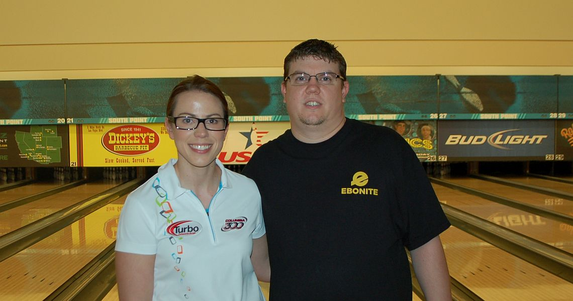 Nevada pair coasts into doubles lead at 2016 USBC Mixed