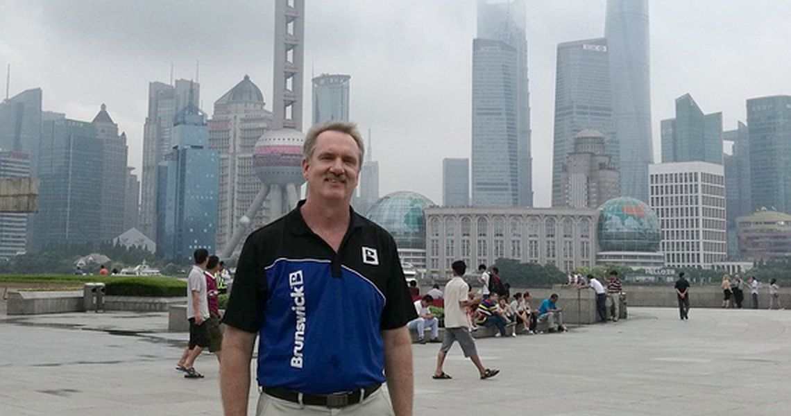 Walter Ray Williams Jr. returns to China to promote the sport