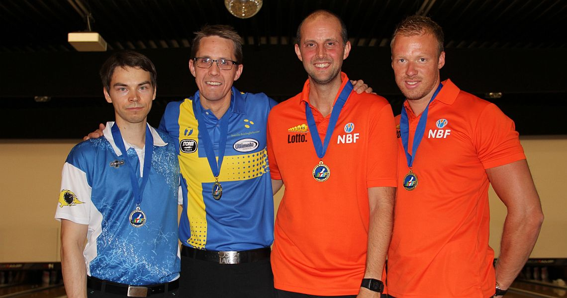 Martin Larsen successfully defends Masters title at MEC