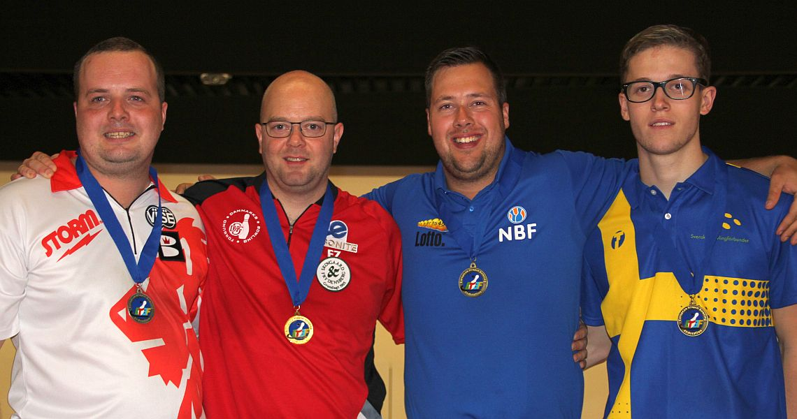 Jesper Agerbo shoots big games to win Singles gold