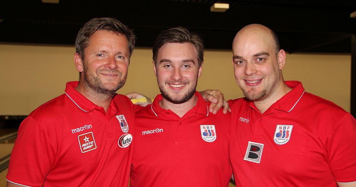 Norway shoots big last game to win Trios preliminaries