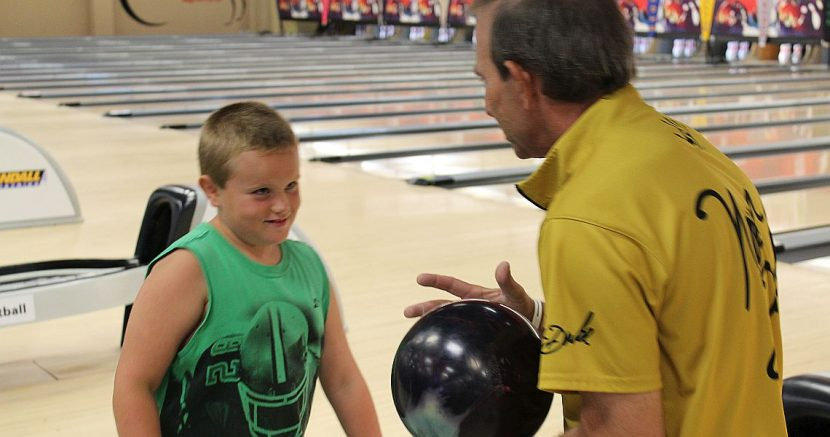"Indiana youth has personal ""Pro-Am"" with Norm Duke"