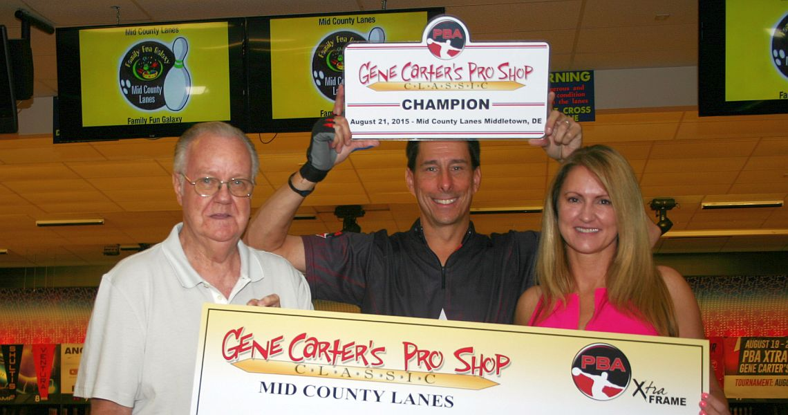 Michael Haugen nearly perfect; rolls 289 to win in Delaware