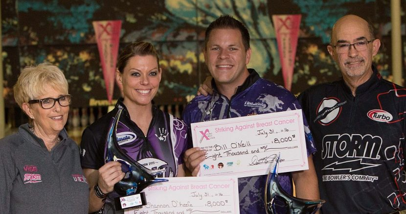 "O'Keefe, O'Neill again win ""The Lucy"" Mixed Doubles title"