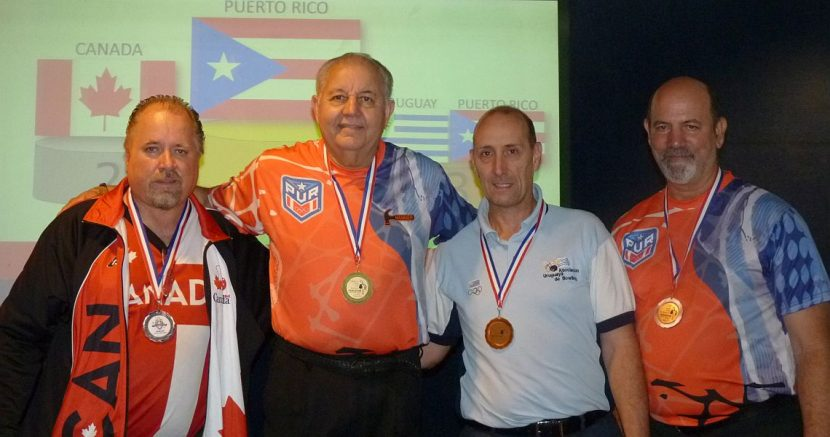 Masters champions crowned at PABCON Senior & Super Senior Championships