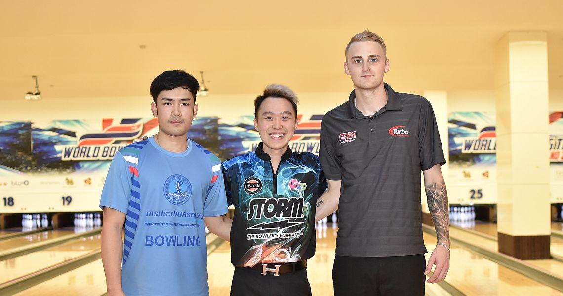 Francis Tan wins both rounds Thursday at WBT Thailand