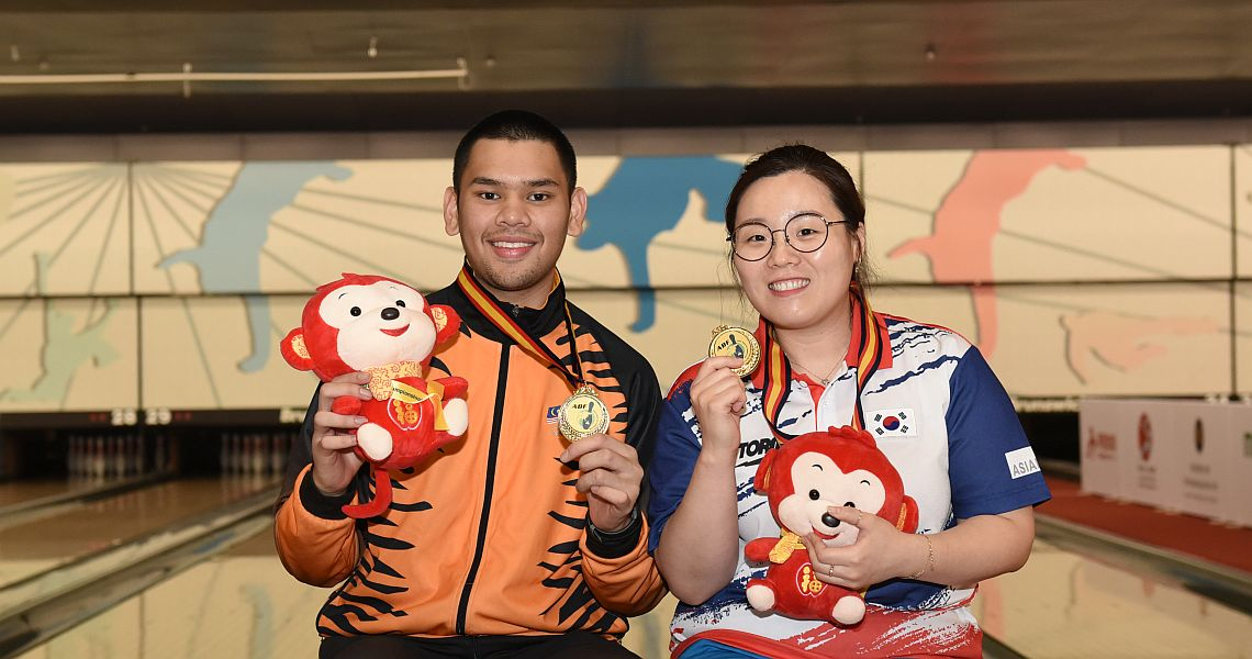 Jung, Ismail conclude Asian Championships with victory in Masters