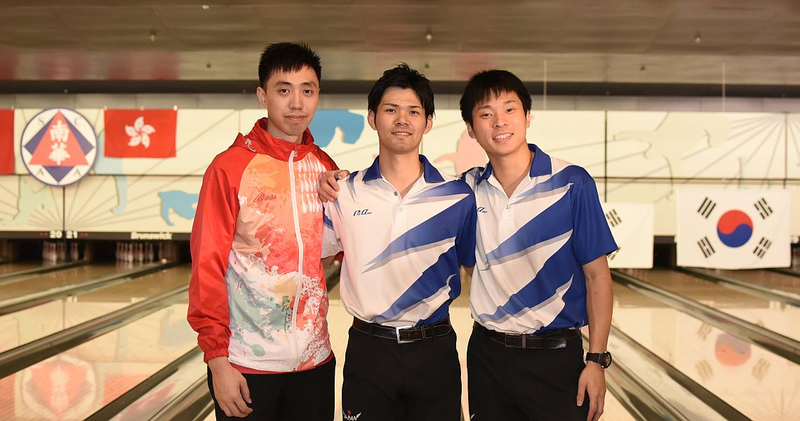 Shogo Wada, Baek Seung Ja lead in Masters match play
