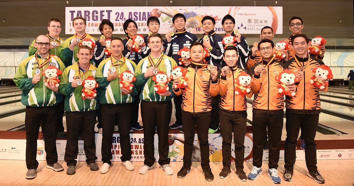 Japanese men dominate Team event; Michael Mak is All-Events champion