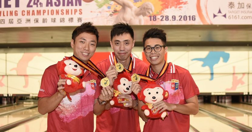 Hong Kong men, Japanese women earn Trios gold at Asian Championships