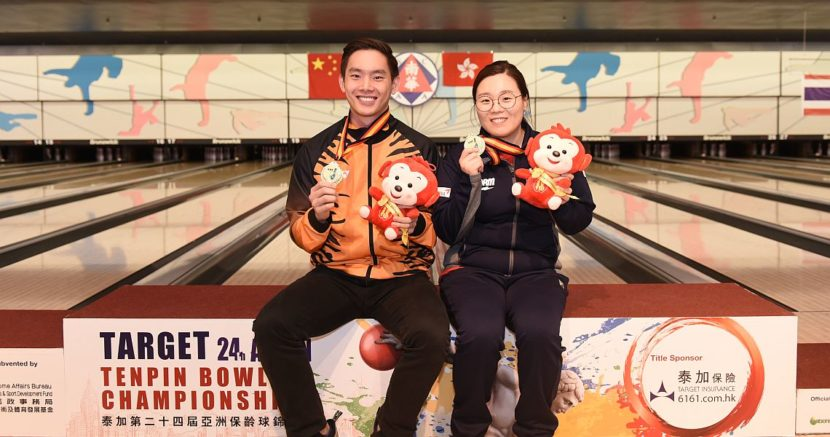 Jung Da Wun, Timmy Tan win gold in Singles at Asian Championships