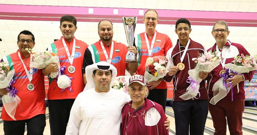 Mahmood Al Attar wins his third gold medal in GCC Masters
