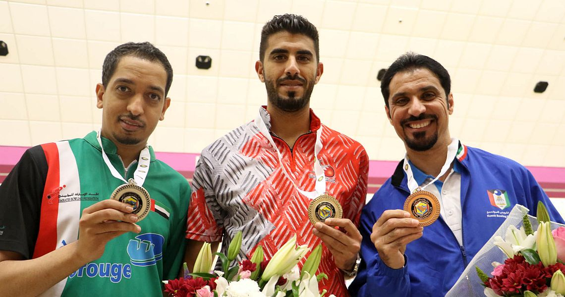 Yousif Falah starts GCC Championships with victory in Singles