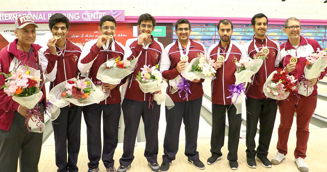 Qatar wins prestigious Team gold at GCC Championships