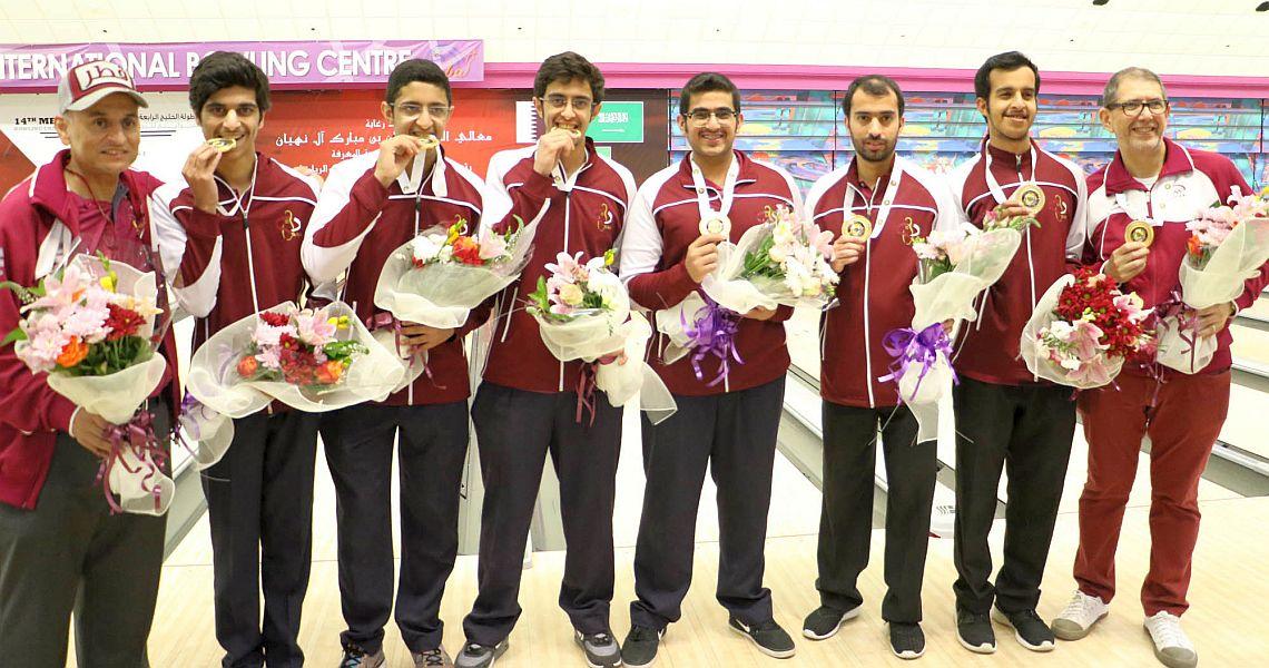 Qatar wins prestigious Team gold at GCC Championships
