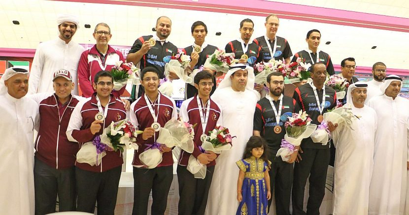UAE win second gold medal at GCC Championships in Trios