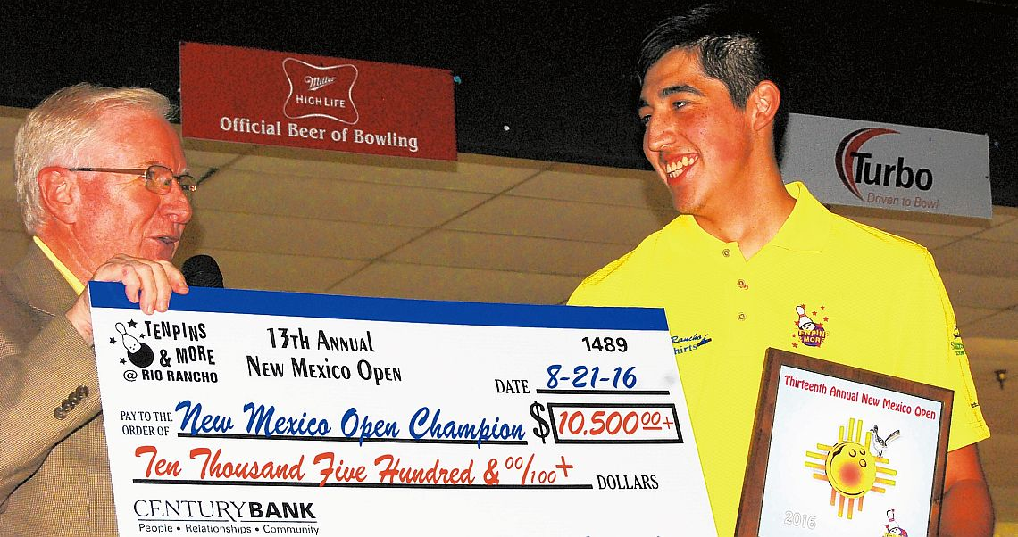 Eric Hatchett is the 2016 New Mexico Open champion