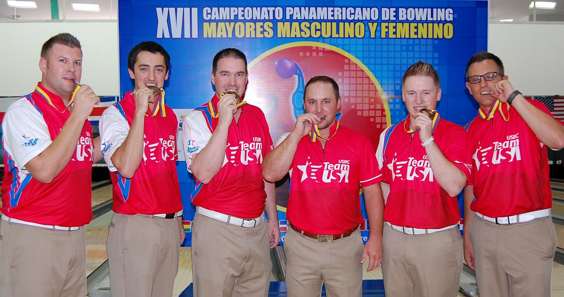 U.S. men win team gold at 2016 PABCON Adult Championships