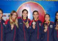 Colombia earns first women's team gold medal at PABCON Championships
