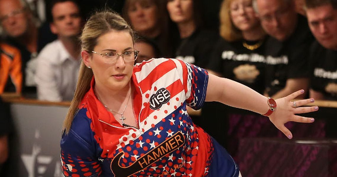 Liz Kuhlkin sets National Record for Woman's High Series