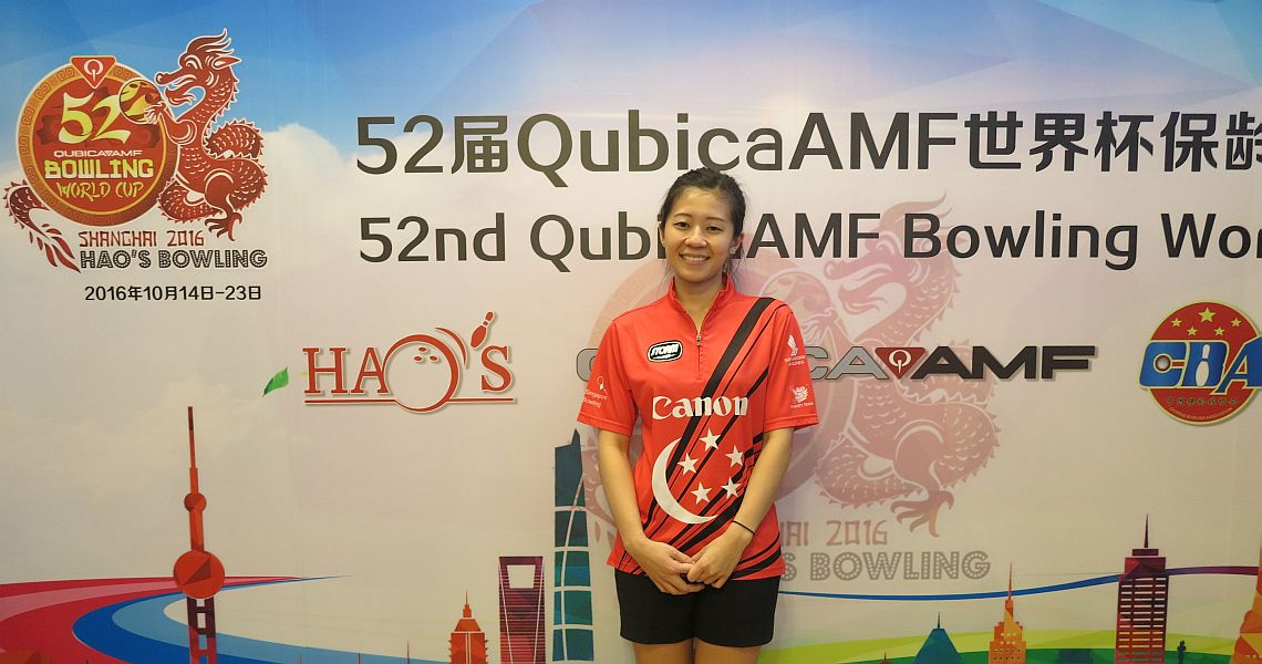 Singapore's Bernice Lim begins pulling away at Women's World Cup