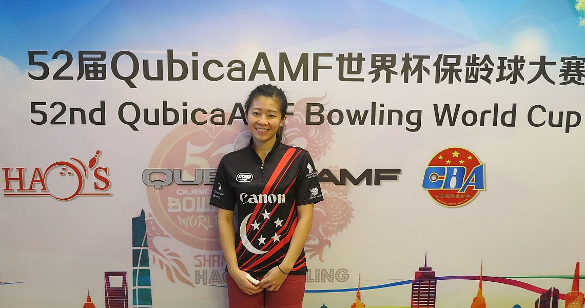 Singapore's Bernice Lim wins women's qualifying at Bowling World Cup