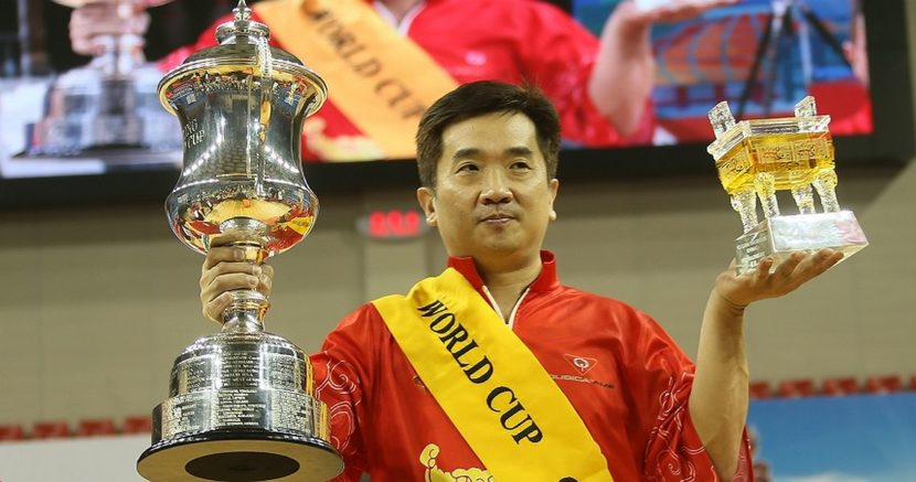 Wang Hongbo wins first World Cup title for China on home turf