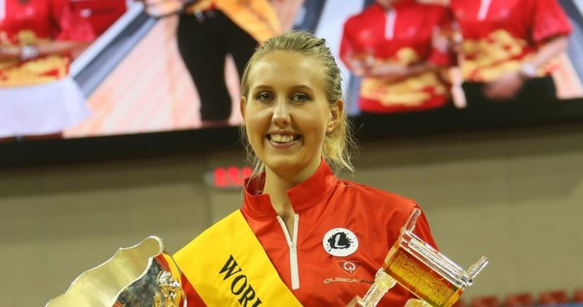 Jenny Wegner becomes third Swedish woman to win the World Cup