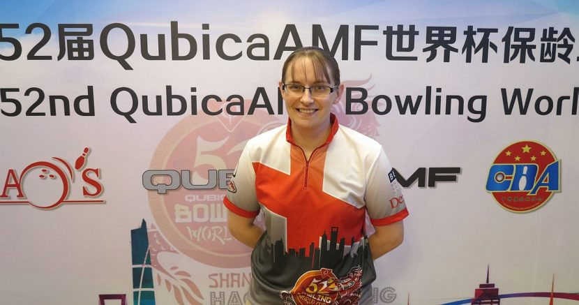England's Lisa John takes the pole position in Women's World Cup