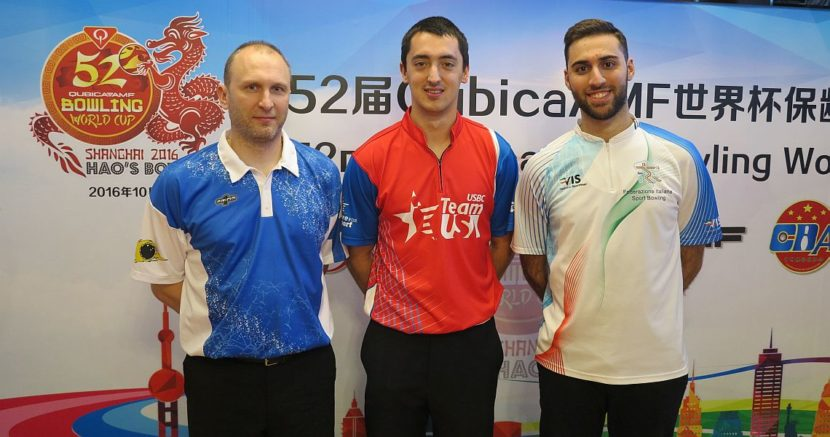Russia's Yan Korshak averages 230 to take first-round lead in Shanghai