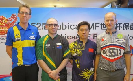 China's Wang Hongbo prevails by one pin to lead after Round 3 Qualifying