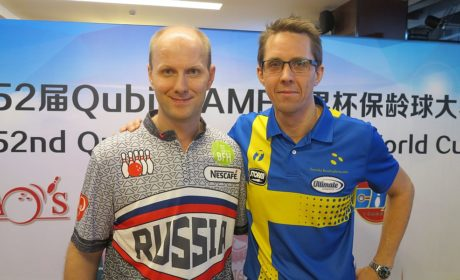 Korshak maintains lead; Larsen moves into second place in Shanghai