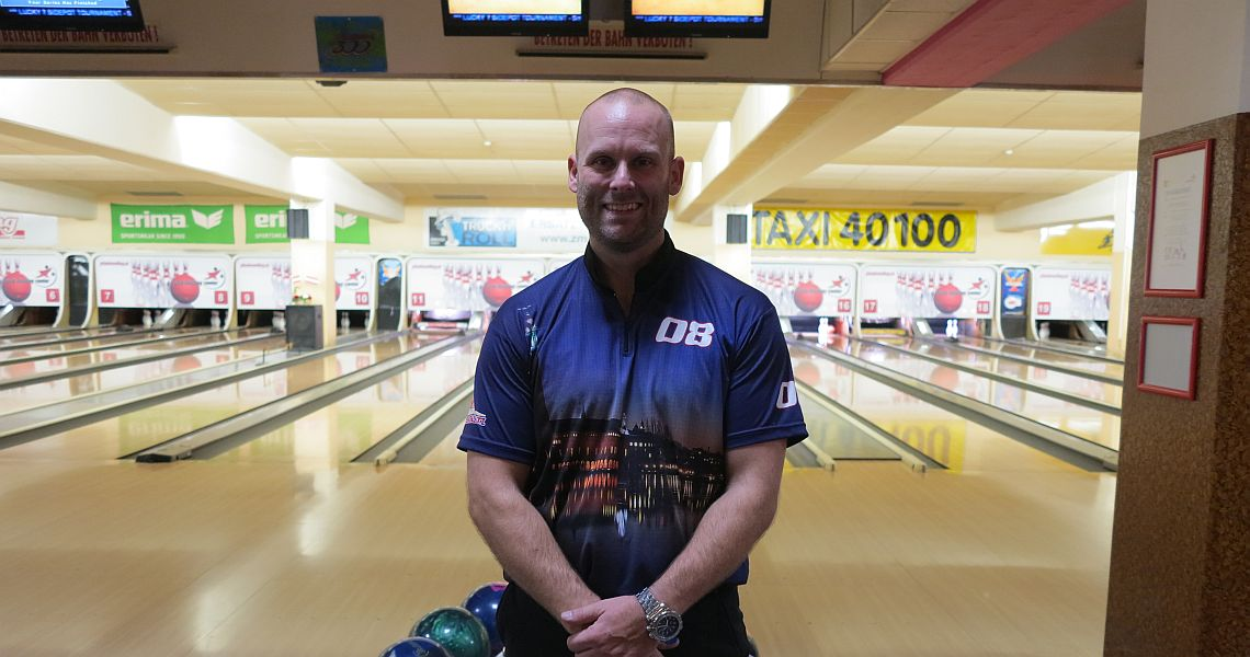 Dennis Eklund shoots 800 on his way into the top 8 in Vienna