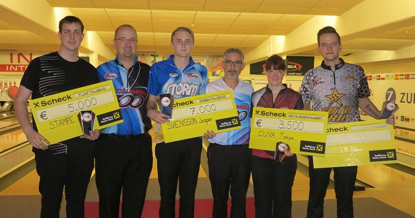 Jesper Svensson defends title in 14th Columbia 300 Vienna Open