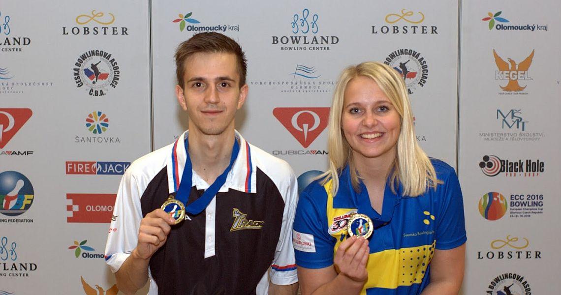 Cajsa Wegner, Jaroslav Lorenc win European Champions Cup from No. 1 seed
