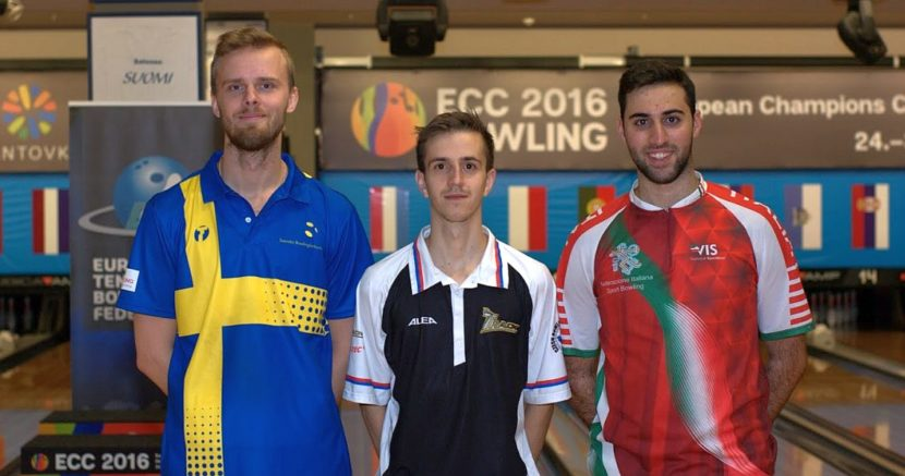 Jaroslav Lorenc pulls ahead of the men's field at European Champions Cup