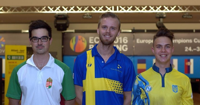 James Gruffman averages over 240 to lead men's qualifying at European Champions Cup