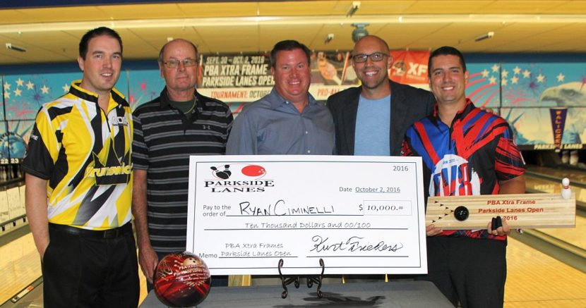 Ryan Ciminelli wins PBA Xtra Frame Parkside Lanes Open