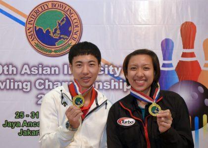 Posadas, Shin win Masters titles at 30th Asian Intercity Bowling Championship
