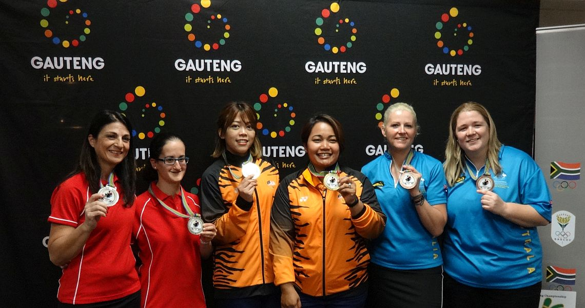 Malaysian women, South African men clinch Doubles titles at CTBC