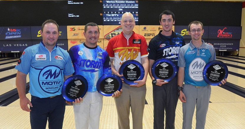 'Merica Rooster Illusion wins PBA Team Challenge title