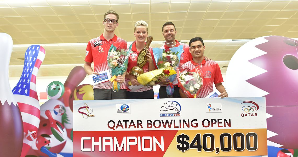 Diana Zavjalova wins her first EBT, WBT title in Qatar Open