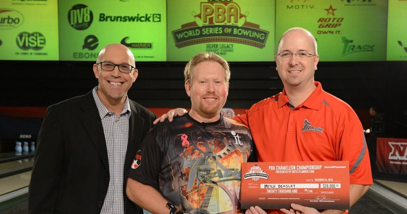 Mitch Beasley wins PBA Chameleon Championship for first title