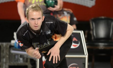 Denmark's Thomas Larsen takes second-round lead in PBA Oklahoma Open