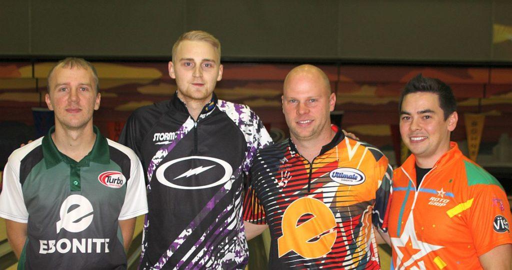 From left: Brandon Novak, Jesper Svensson, Tommy Jones, and BJ Moore III.