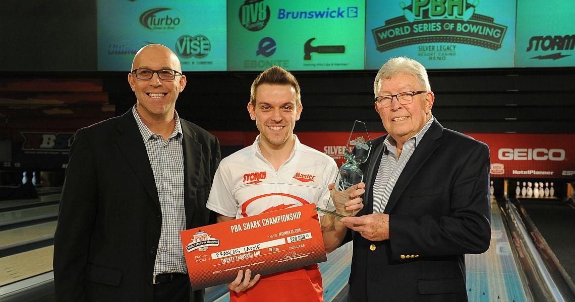 Canadian rookie Francois Lavoie wins PBA Shark Championship