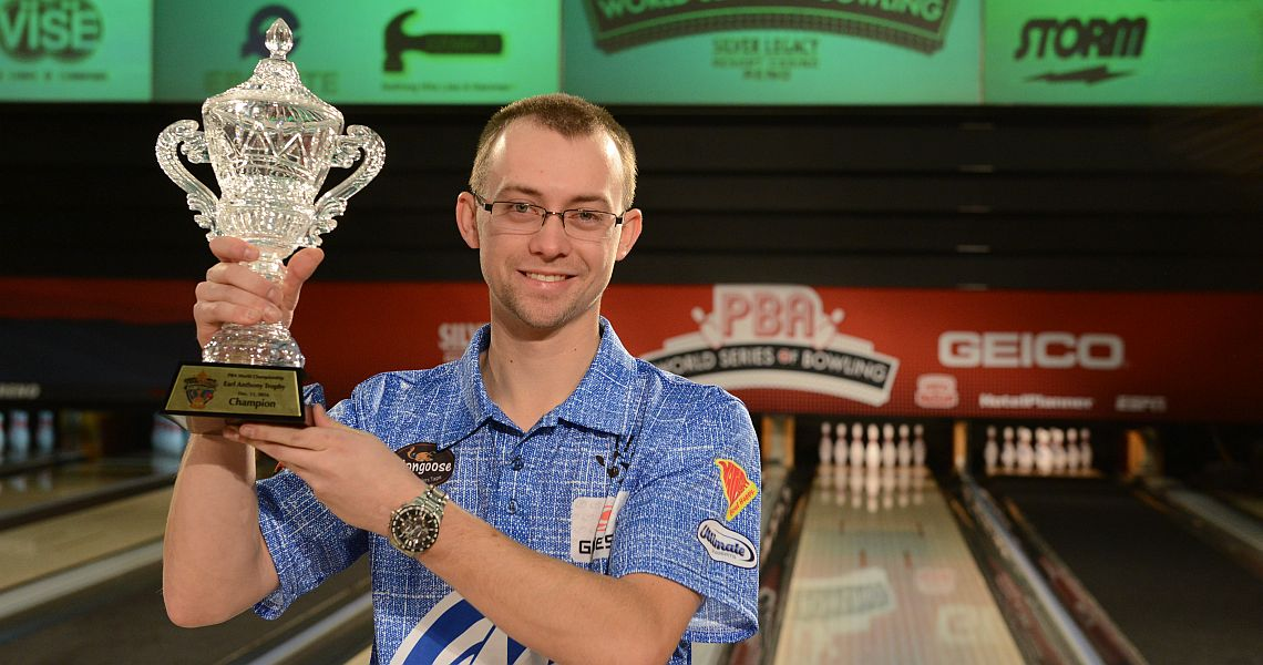 Indiana's E.J. Tackett wins PBA World Championship