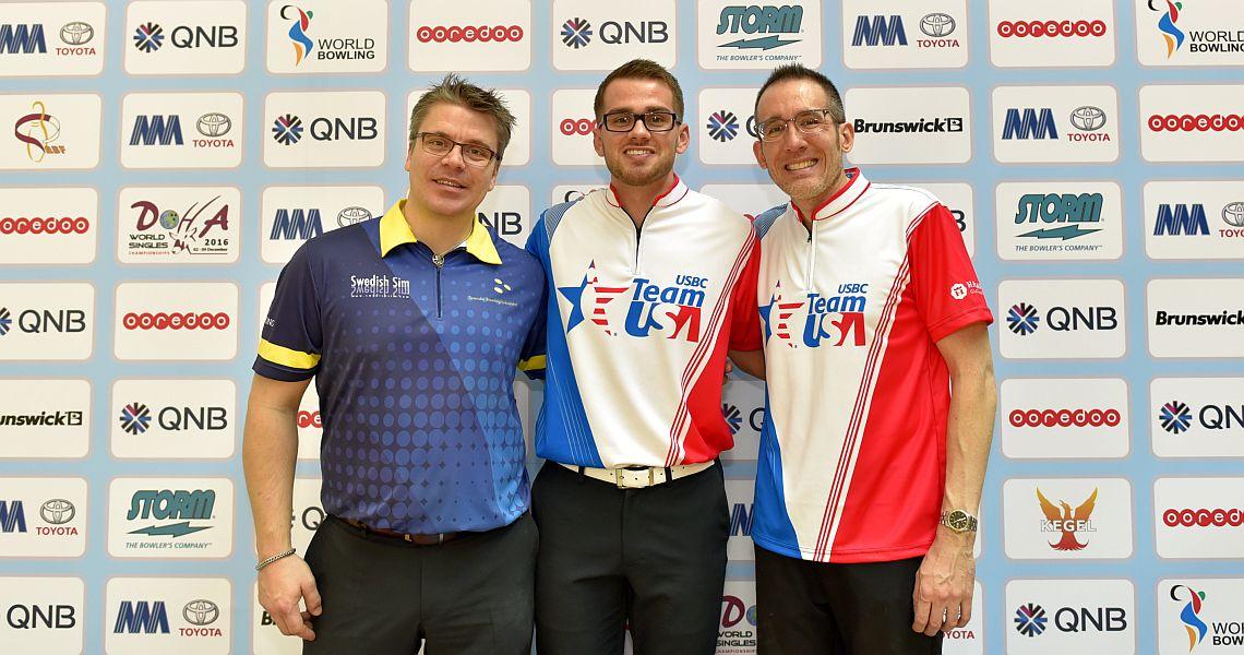 Team USA's Chris Via wins qualifying at Men's World Singles Championships